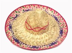 $5.50 Large Embroidered Sombrero