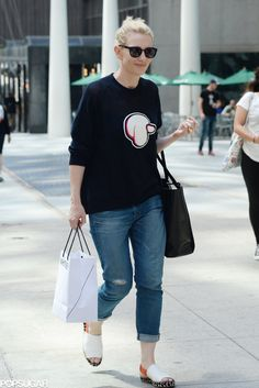 Cate Blanchett kept it casual as she shopped in NYC.