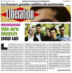 """Libération: """"Le groupe prouve qu'il a les idées larges avec son premier album, Shores"""""""