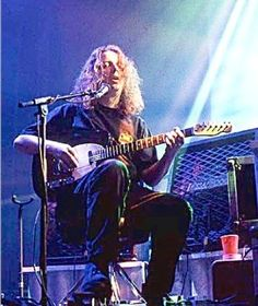 """Guitarist and founding member of the Athens, Georgia roots-rock band """"Widespread Panic"""",Michael Houser, was born January and died from Pancreatic Cancer on August 2002 Music Stuff, My Music, Cemetery Records, Widespread Panic, The Jam Band, In Her Eyes, Most Beautiful People, Time Capsule"""