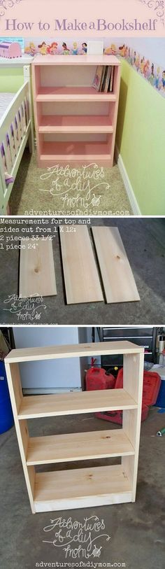 Check out how to build a simple DIY bookshelf @istandarddesign