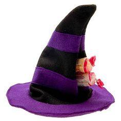 Lembrancinha Halloween - Chapéu de Bruxa Porta Doce em Feltro