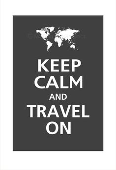 Never stop traveling.
