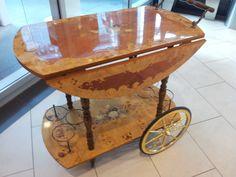 old english tea wagon