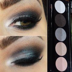Maquiagem de festa com a palette de sombras Party Time da Smart Makeup AnasuilPausa para Feminices