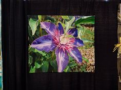 DSC1943 Quilt show sponsored painted surface entry