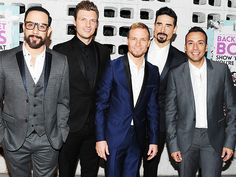 Aging well.   Star Tracks: Friday, January 30, 2015 | BACKSTREET'S BACK | Ready to tell the world their story, the Backstreet Boys – AJ McLean, Nick Carter, Brian Littrell, Kevin Richardson and Howie Dorough – attend the premiere of their documentary Backstreet Boys: Show 'Em What You're Made Of at ArcLight Cinemas in Hollywood on Thursday.