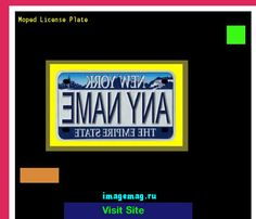 Moped license plate 145133 - The Best Image Search