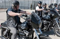 """14. Clay's Harley-Davidson Dyna Super Glide - The 15 Coolest Motorcycles From """"Sons of Anarchy""""   Complex"""