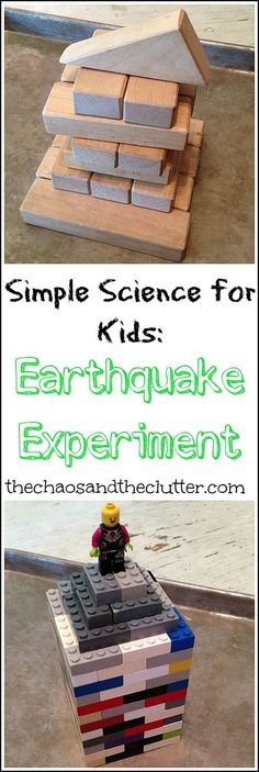 Simple Science for Kids - Earthquake Experiment