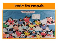 We love to read about Tacky the Penguin!