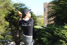 Empreendedor do Método DeRose em Portugal, Eduardo Cirilo, pratica também o golfe. Hoje registrei alguns swings muito bons desse grande amigo.