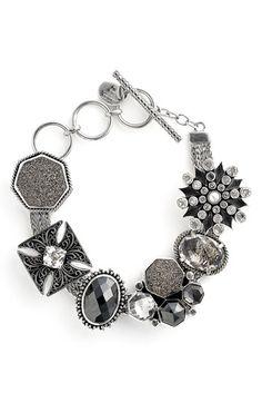 LOVE this! Lori Bonn slide on charm bracelet.