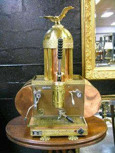 """1774: ANTIQUE COPPER ESPRESSO MACHINE MADE BY """"TERMOZON : Lot 1774"""