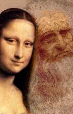 Mona Lisa With Di Vinci