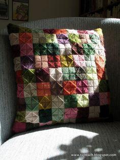 Pillow #2 scottish filling stitches
