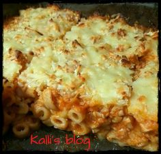 Greek Recipes, Real Food Recipes, Cooking Recipes, Rice Pasta, Cookbook Recipes, Food For Thought, Afternoon Tea, Macaroni And Cheese, Chicken