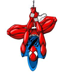 I want to draw all the versions of Spider-Man over the years. not sure why I started with Scarlet Spider-Man but it came out pre. Marvel Dc Comics, Marvel Heroes, Marvel Characters, Spiderman Art, Amazing Spiderman, Spiderman Sketches, Scarlet Spider Ben Reilly, Captain Universe, Don Corleone