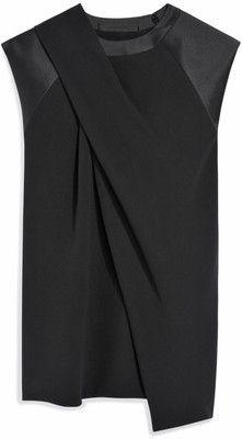 Alexander Wang Belted Wrap Scarf Dress