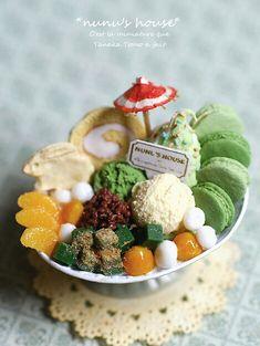 miniature Japanese Sweets