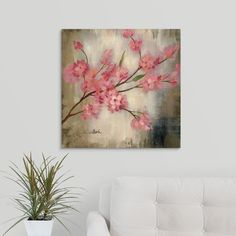 'Cherry Blossom I' by Silvia Vassileva Canvas Wall Art, Multi-Colored