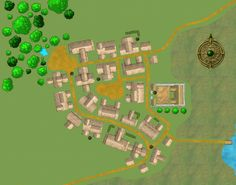 Exalted - A small village called Green Tiger in the An-Teng Province Pen And Paper, Clash Of Clans, Video Game, Gaming, Green, Rpg, Videogames, Clash On Clans, Games