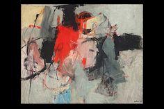 """Porta Portese"" by Italian painter Afro, 1964"