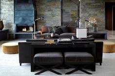 Essex sofa i grå velour