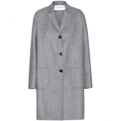 Valentino Wool and Angora-Blend Coat ($1,600) ❤ liked on Polyvore