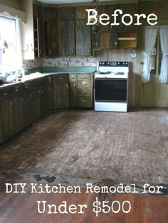 Amazing kitchen remodel http://www.care2.com/greenliving/a-diy-kitchen-overhaul-for-under-500.html
