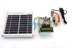 Solar Energy Measurement System - The aim of this project is to measure solar cell parameters through multiple sensor data acquisition. In this project a solar panel is used which keeps monitoring the sunlight.