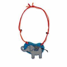 Thailand: Elephant Necklace