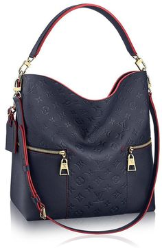 The Melie bag from Louis Vuitton is one of the newest bags that is set to conquer the hearts of many with its fresh and modern take on the hobo design. For LV fans out there, the new Melie is sure … Best Handbags Collections on the Planet Prada Handbags, Luxury Handbags, Fashion Handbags, Tote Handbags, Purses And Handbags, Fashion Bags, Leather Handbags, Designer Handbags, Hand Bags Designer