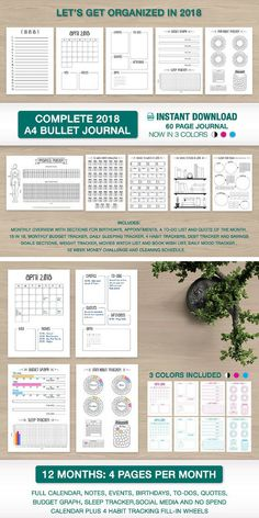 This complete bullet journal download looks like the perfect way to get artsy writing! I haven't written in a journal in a while, but looking at this is getting me excited to start again, and looks to have everything I'll need! #bulletjournal #writing #ad #journal #oybpinners #journalling #printable #digital #download #pdf #creativity