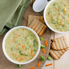 Healthy broccoli soup - prepared using all healthy & clean ingredients. It is also vegan, plant based and a low calorie soup.