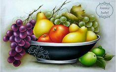 New Fruit, Fruit Art, Color Pencil Sketch, Vegetable Basket, Glass Fruit Bowl, Fruit Painting, Fabric Painting, Painting Art, Fruit Illustration