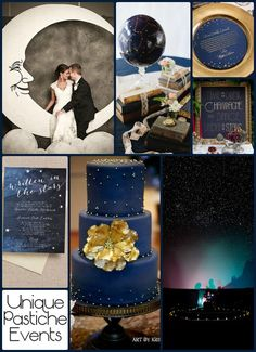 It's Written in the Stars – Astronomy Themed Wedding #wedding #stars