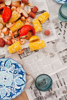 Host a seafood boil
