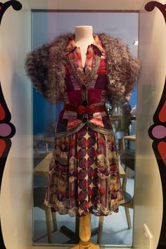 Anna Sui's Timeship Lands at London's Fashion and Textile Museum