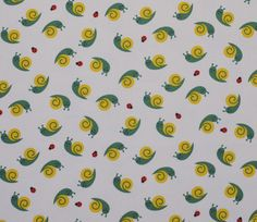 Sleepy happy snails and ladybugs on a natural medium weight cotton canvas Japanese fabric from Kokka. Great for children's room decor, clothing, tote bags, and more! Japanese Illustration, Pattern Illustration, Beautiful Bugs, Animals Beautiful, Childrens Room Decor, Japanese Fabric, Stuffed Animal Patterns, Spring Crafts, Cool Patterns