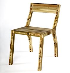 scrapile recyclable chair