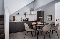 my scandinavian home: An Elegant Swedish Farmhouse Conversion