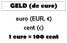 Gietjes Corner: Wandplaat voor de euro Euro, Teacher, Education, Money, Professor, Teachers, Onderwijs, Learning