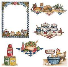 ATÖLYE ŞİRİN: Mutfak Dekupaj Desenleri
