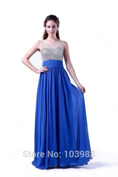 b1917725f02 Vestido de festa New Custom color   Size Floor length Bridesmaid Dresses  wedding dress Prom Dress party dress women blue free -in Bridesmaid Dresses  from ...