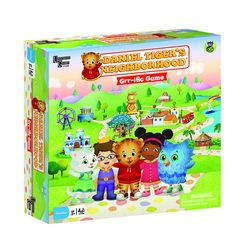 Daniel Tiger's Neighborhood Grr-ific Game, Won't you ride along with me? Players get a chance to become their favorite characters from the show, exploring the neighborhood of Make-Believe with the hel