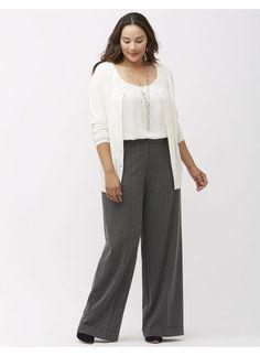 Lena Pants | Plus Size Wear to Work Pants Collection | Lane Bryant