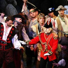 pirates of penzance - He is the very model of a modern major general