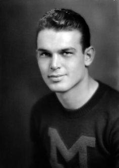 1941 NFL Darft - Forest Evashevski (QB) - Round 1: Pick 10