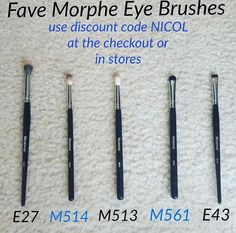 Morphe favorite brushes by Nicol Concilio - Helpful Sharing Makeup 101, I Love Makeup, Makeup Dupes, Makeup Goals, Skin Makeup, Beauty Makeup, 1980 Makeup, Makeup Ideas, Beauty Tips